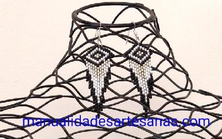 Pendientes para mujer en forma de cometa con rocallas